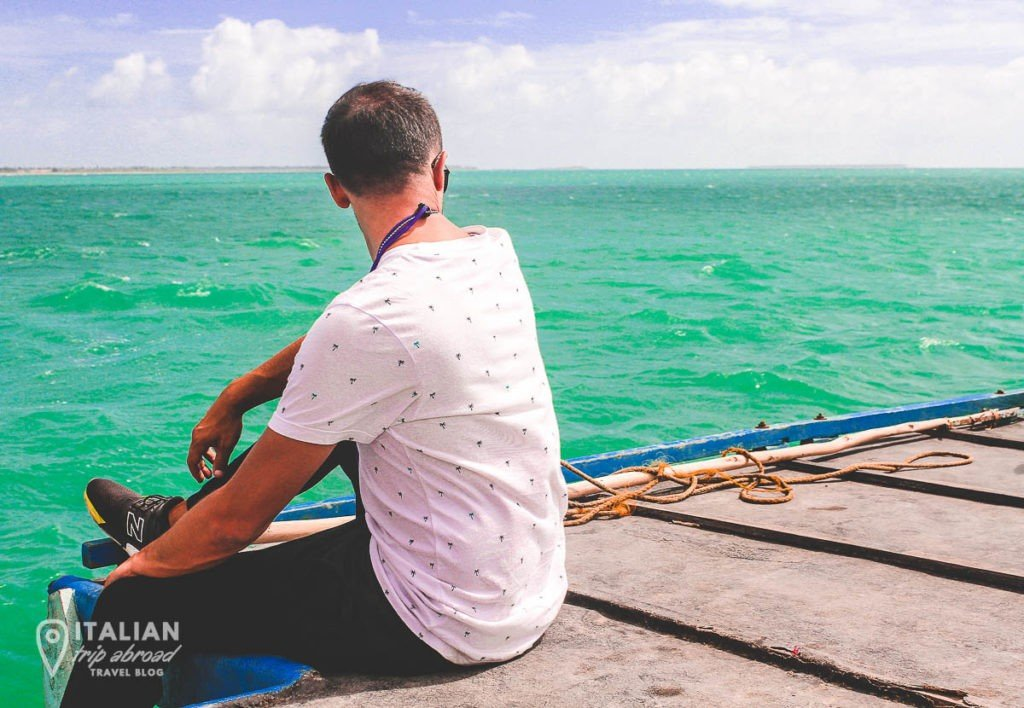 Journey from Jaffna Peninsula to Nagadeepa Island on a ferry boat