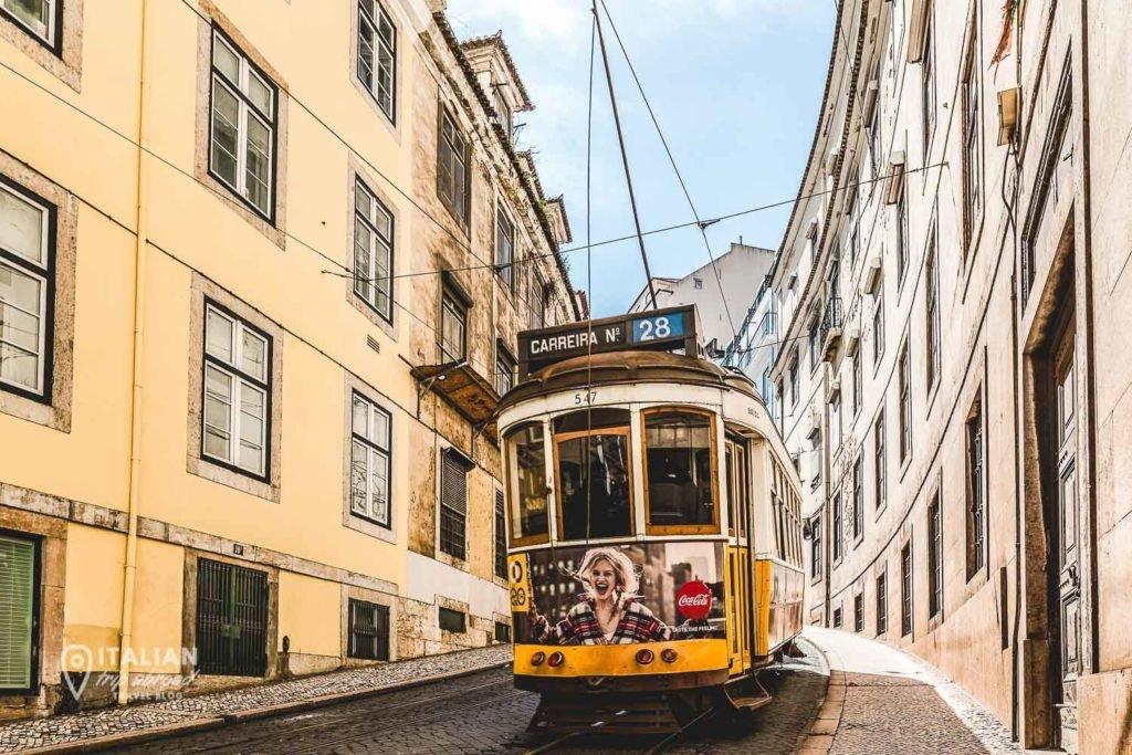 Tram 28 Lisbon - Portugal - The best on a budget tour of Lisbon