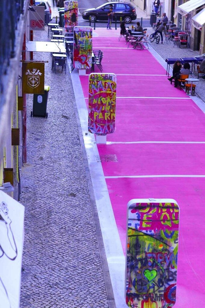 Pink Street Lisbon - The most instagrammable spot in Lisbon