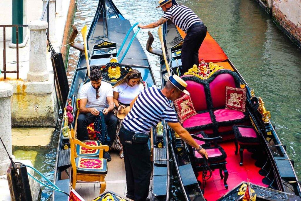 2 days in Venice - Gondola Ride in Venice