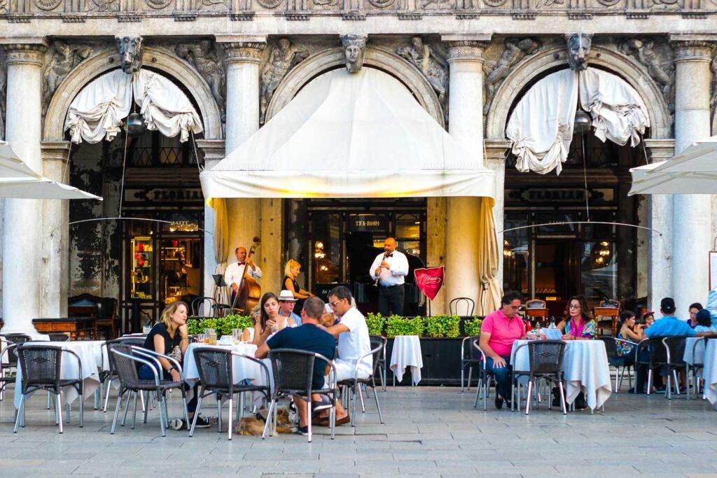 Cafe Florian in Venice - Bars of Venice