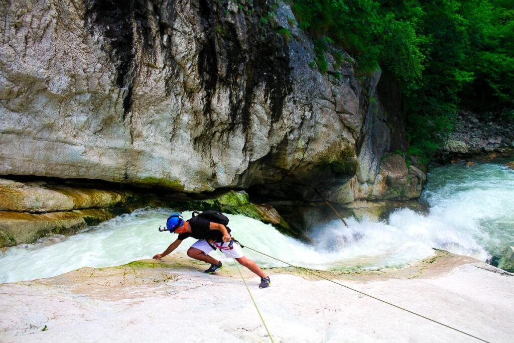 Gorges of Ponte Alto - Climb a gorge in Trentino - Adventures to do in Trentino