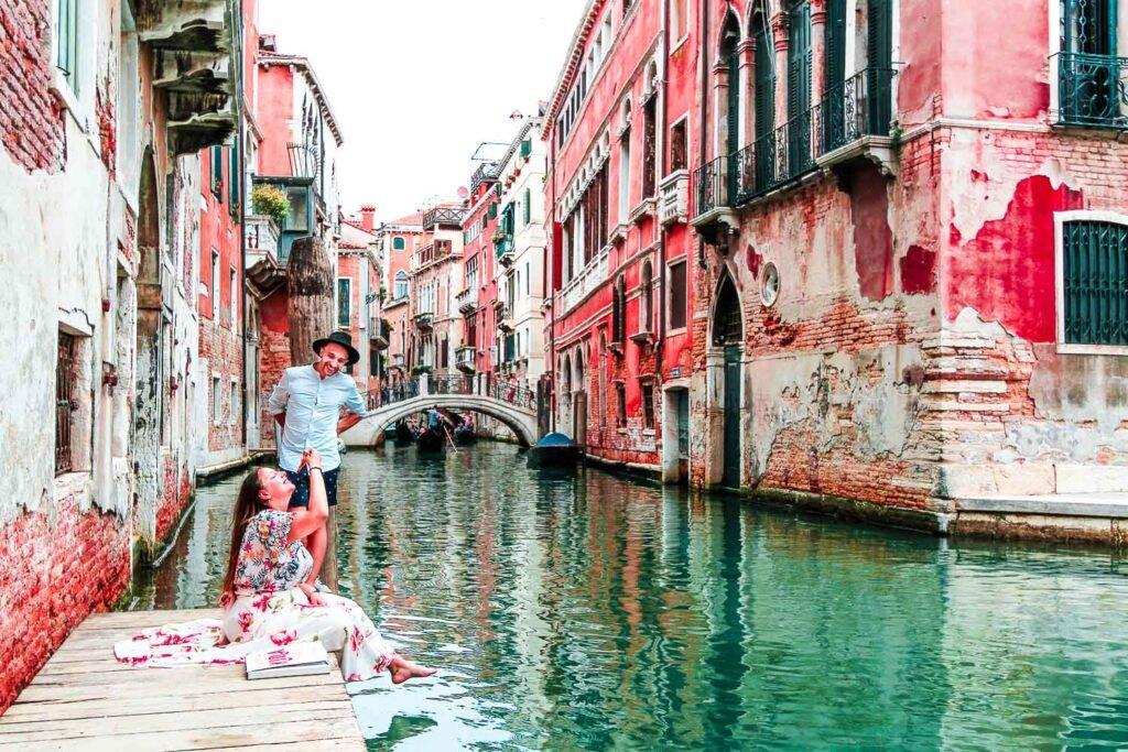 Hidden corner of Venice - The best photos of Venice by Italian Trip abroad - Hidden Pier