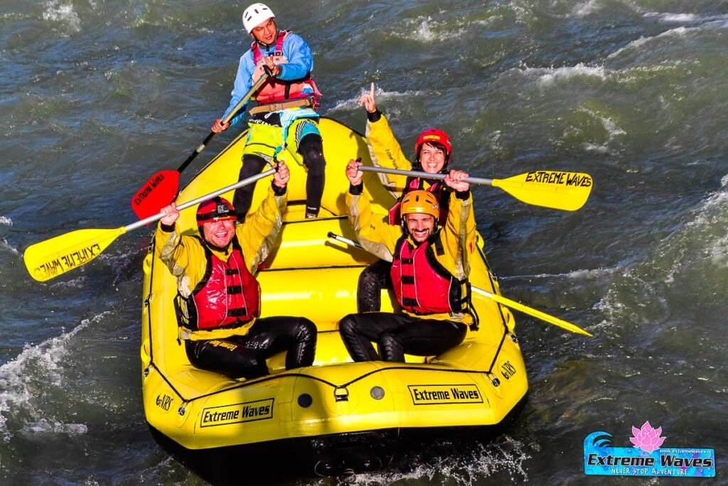 rafting in Trentino - River Noce - Summer activities in Trentino