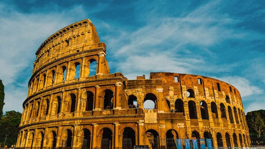 The Colosseum the simbol of Rome you can't miss to visit in Rome in winter