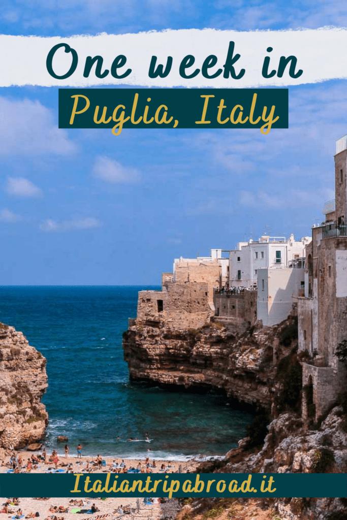 Onw week in Puglia, Italy