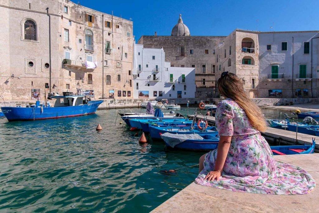 Monopoli port |  1 week in Puglia
