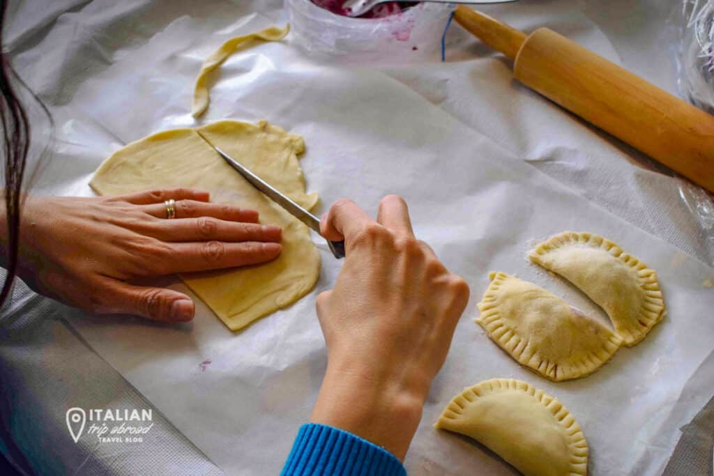 Learn how to make pasta in Italy. Cook traditional dishes such as orecchiette in Bari or bombette in Cisternino - Puglia Cooking Class