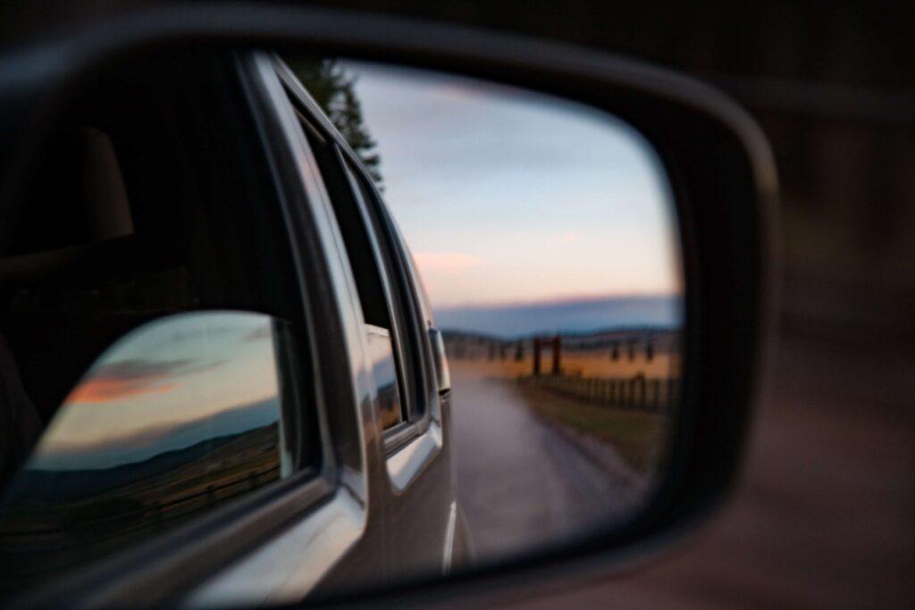 Road Trip Horizon in the car