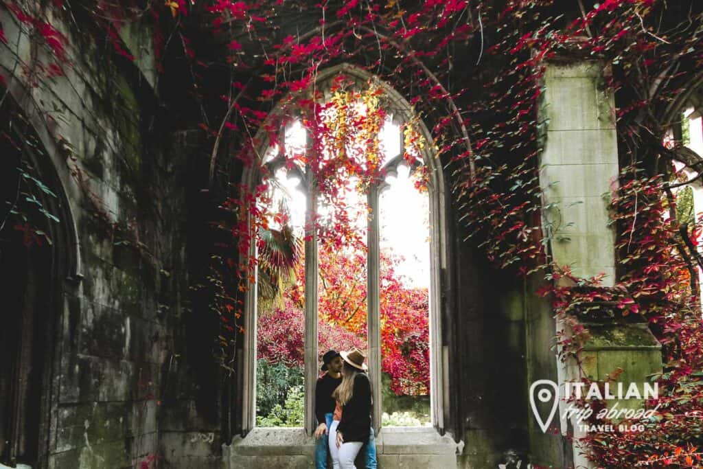 St. Dunstan in the East | Autumn colours in London